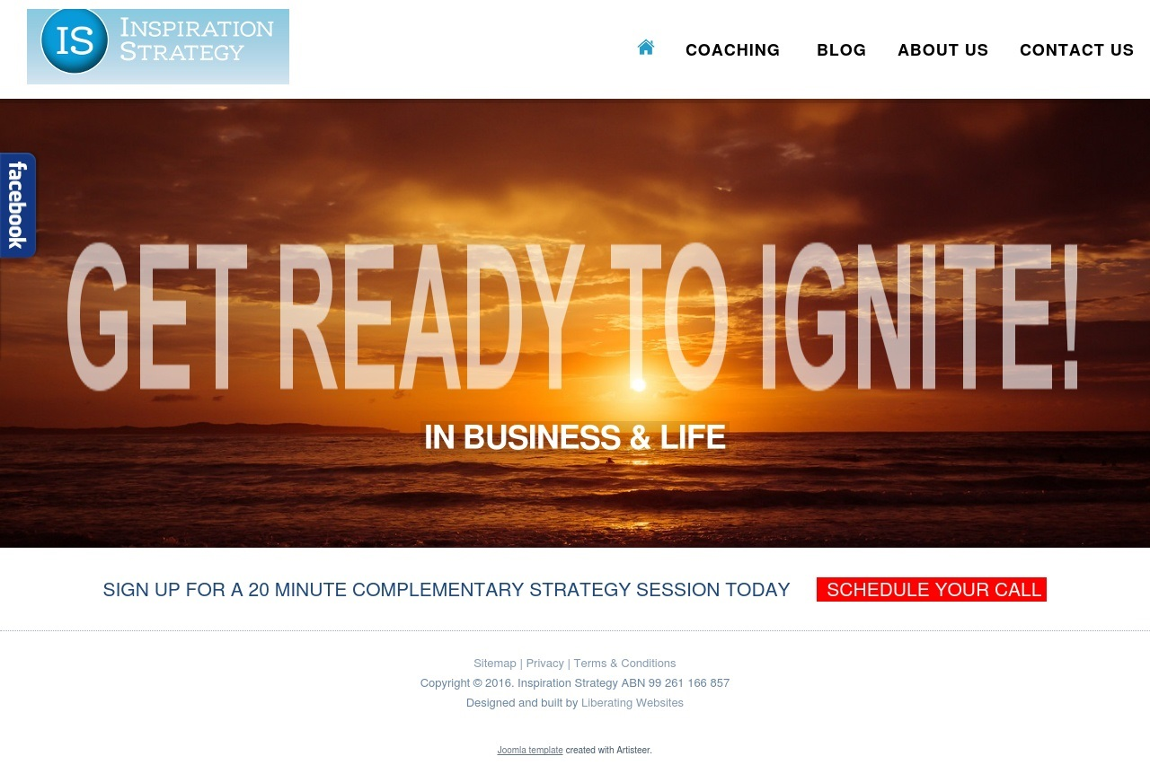 Inspiration Strategy - Liberating Websites