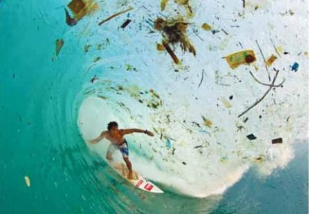 Phénomène l'ile plastique