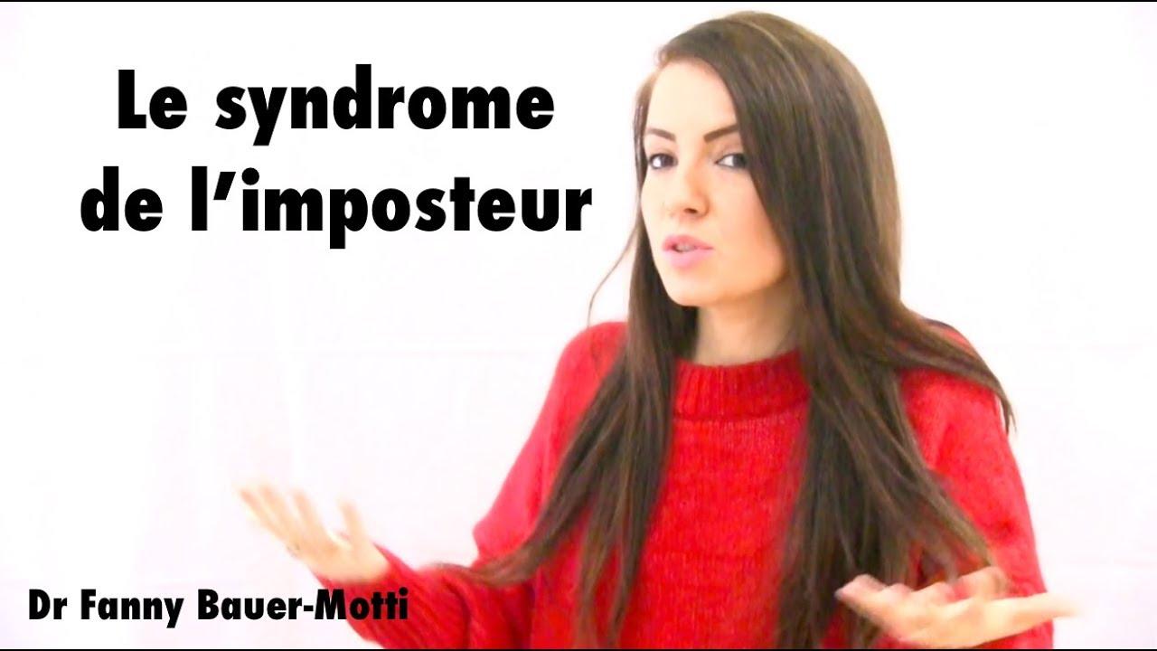 le syndrome de l'imposteur – Dr Fanny Bauer-Motti