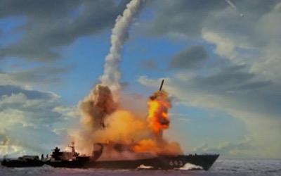 Exercice militaire russe au large de l'Azerbaïdjan