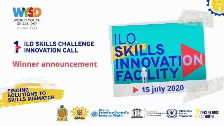 Journée mondiale des compétences des jeunes: Palmarès du 1er « Appel à solutions de l'OIT : innovation et compétences »