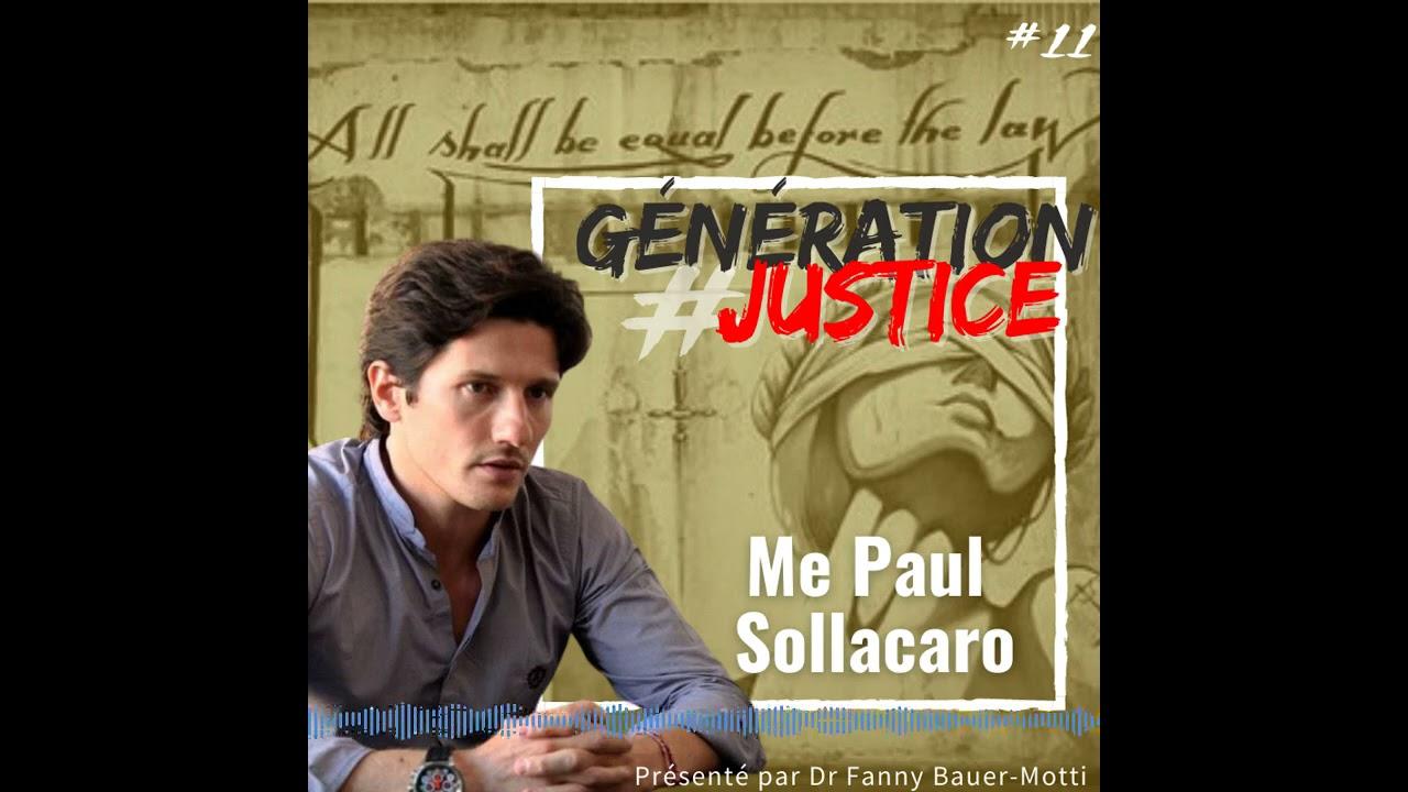 Génération justice – Paul Sollacaro