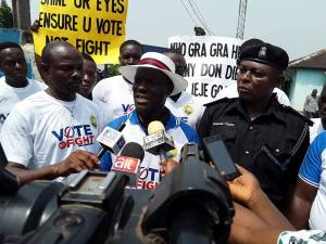 2019: Peace, Security, Conduct of Free, Fair, Credible Elections Tops CEPEJ Peace Walk in Delta