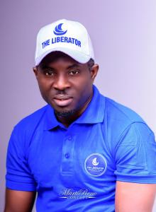 Owoupele unveils Liberator branded T-shirts, Caps in Warri ahead of launching