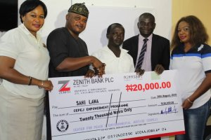 Joy as CEPEJ dole out cash to support  traders in Lagos