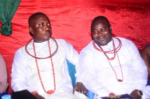 Double Chiefs Ikiyegha, Ebah celebrates chieftaincy titles in grand style