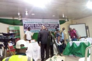 Eye on Bayelsa Guber: Officials relocate collation of Nembe, Southern Ijaw results to INEC headquarters