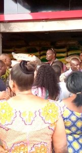 Joy as Asupa roll out bags of rice, groundnut oil, wrappers for over 500 widows in Burutu North