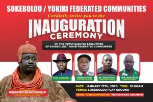 Pondi, Agbonu, Agediga, others to storm Sokebolou for inauguration of community executives tomorrow