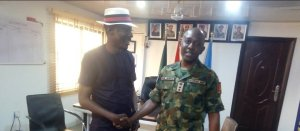 Ezekiel commends military, visit's 3Batallion Effurun in Delta for partnership – The Liberator