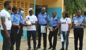 CEPEJ Donates Sanitizers, Other Materials To Curtail Spread Of  Covid – 19 In Delta, Nigeria   – The Liberator