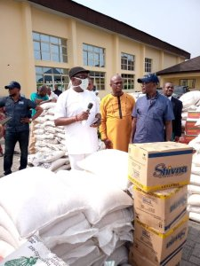 Toxic  Chemical: Delta State Government Distributes Relief Materials To Affected Communities – The Liberator