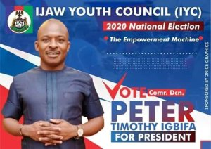 Just-In: Ijaw Youths Decides As Peter Emerges 8th President Of Council