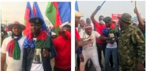 Tension: Ijaw Youths Blocks East-West Road, Tells Buhari To Appoint A Substantive NDDC Board