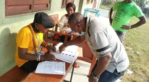 Delta LGA Elections: Jite Casts Vote In Udu, Sure Of Victory, Hails DSIEC