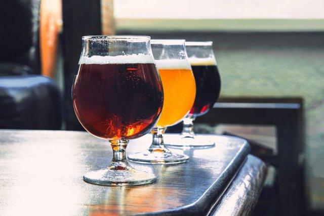 Trio de cerveza
