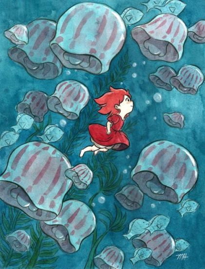 Défi Piano #28# Ponyo sur la Falaise, Mothe of the Seau