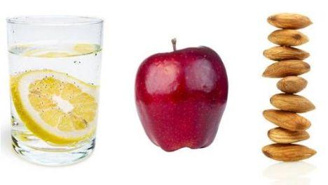 mela e acqua ed altri gastroprotettori naturali