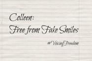 Colleen: Free from Fake Smiles   Libero Magazine