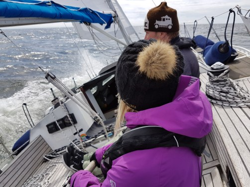 One of the best sailing days during the whole four weeks was at the beginning of the trip, crossing the Gulf of Finland to Lohusalu, Estonia.