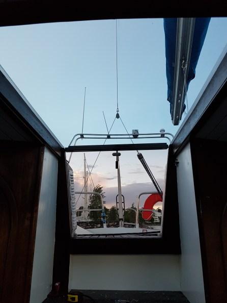 www.Liberta.fi new boat companionway doors, uudet veneen luukut