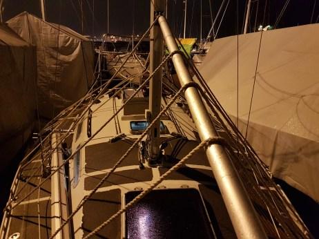 Frame for the boat cover - tee se itse pressuteline 2