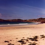 antidote to winter, glorious beach, north-west Scotland
