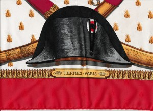 napoleon's bees hermes scarf
