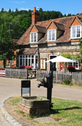Goblin Court typical English village