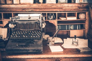 typewriters not conducive to micro-editing