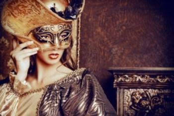 Venetian masquerade carnival. Could be opera