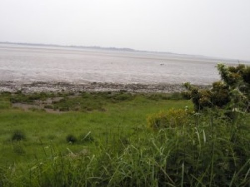 Solway Firth looking towards England