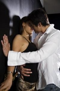 smell evokes memory when couples kiss