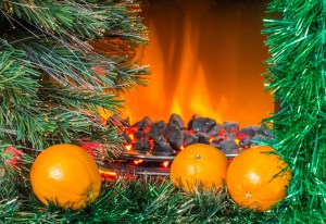 smell evokes memory with oranges and fire
