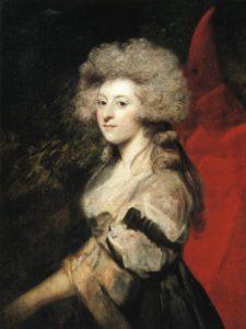 Secret wedding. Mrs Fitzherbert by Joshua Reynolds