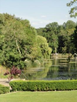 Glyndebourne gardens, setting for opera