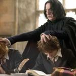 antiheroes or villains? Rickman as Severus Snape