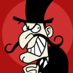 cardboard villains belong in cartoons or pantomime