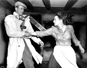 John Wayne, Maureen O'Hara in The Quiet Man