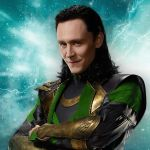 loki played by actor Tom Hiddleston