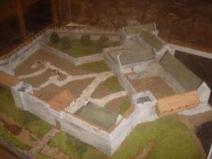 aydon castle-model-2013-485