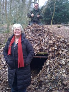 Katie Fforde Ray Mears research