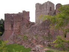 Goodrich Castle ruins