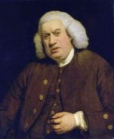 Dr Samuel Johnson by Joshua Reynolds