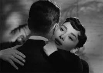 Bogart dancing with Hepburn - Sabrina