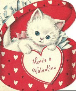 Valentine card, clip art