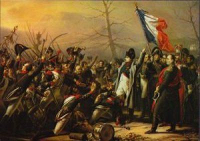 Napoleon-return-troops-cheering