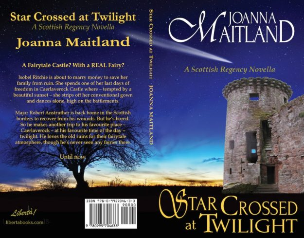 cover reveal Star Crossed at Twilight by Joanna Maitland paperback out 1st June 2017