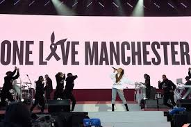 Ariana Grande and volunteer musicians, Manchester