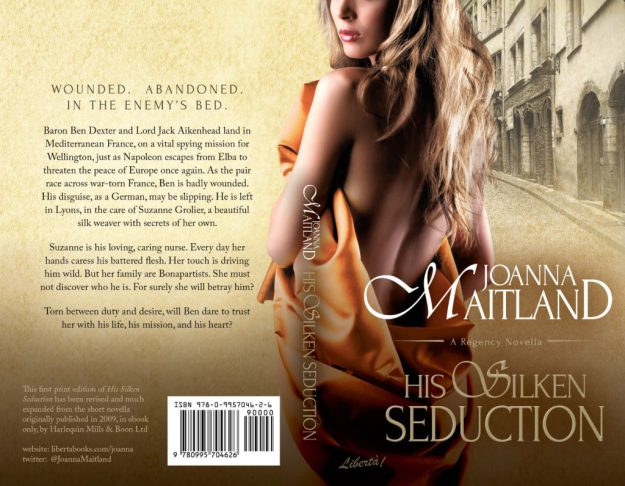 His Silken Seduction Paperback Cover